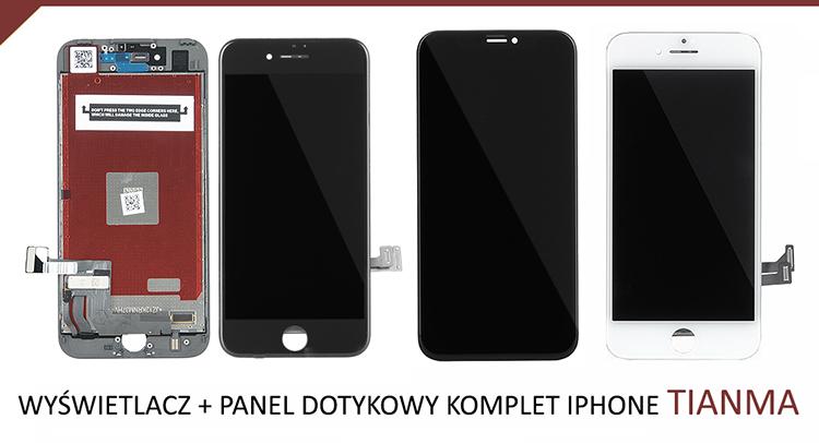 WYŚWIETLACZ + PANEL DOTYKOWY KOMPLET IPHONE TIANMA