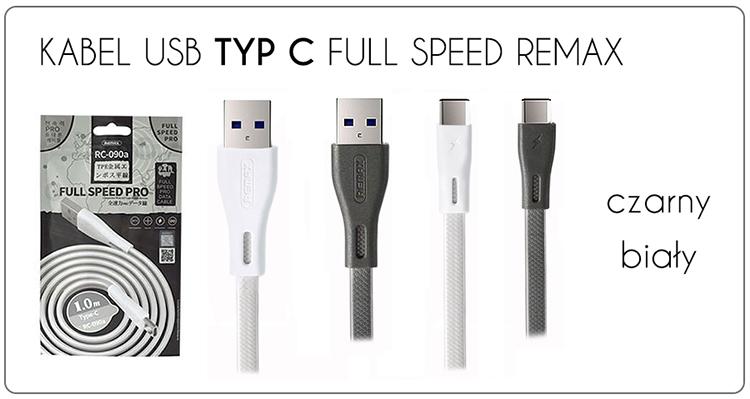 KABEL USB TYP C FULL SPEED PRO REMAX