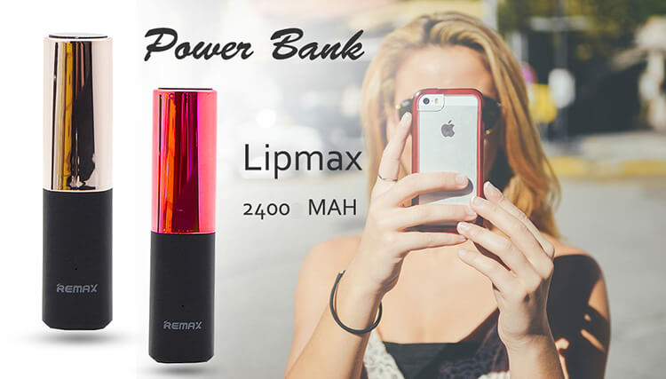 POWER BANK REMAX LIPMAX 2400MAH
