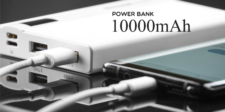 Power Bank REMAX LINON PRO 10000MAH biały