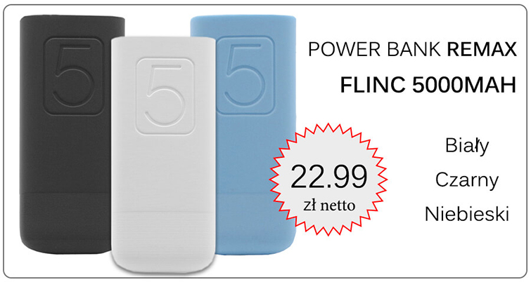 POWER BANK REMAX FLINC 5000MAH
