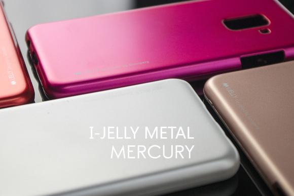 WYPRZEDAŻ ! Etui Mercury I-JELLY METAL