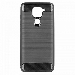 ETUI BACK CASE SLIM ARMOR XIAOMI REDMI NOTE 9 CZARNY
