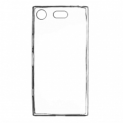 ETUI BACK CASE ULTRA SLIM SONY XPERIA XZ1 COMPACT TRANSPARENT