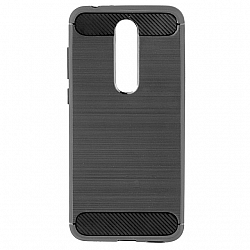 ETUI BACK CASE SLIM ARMOR NOKIA 5.1 PLUS CZARNY