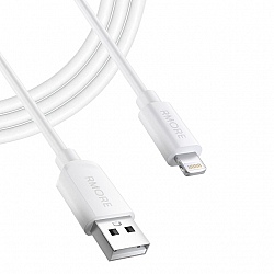 KABEL USB RMORE IPHONE LIGHTNING BIAŁY 2A 1M 5 5S 5C 6 6S PLUS 7 PLUS 8 X