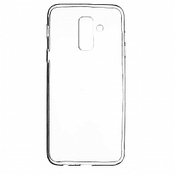 ETUI BACK CASE ULTRA SLIM SAMSUNG A605 GALAXY A6 2018 PLUS TRANSPARENT