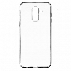 ETUI BACK CASE ULTRA SLIM SAMSUNG J800 GALAXY J8 TRANSPARENT
