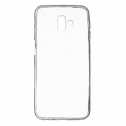 ETUI BACK CASE ULTRA SLIM SAMSUNG J610 GALAXY J6 PLUS 2018 TRANSPARENT