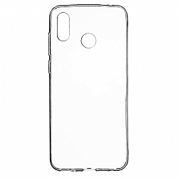 ETUI BACK CASE ULTRA SLIM HUAWEI HONOR PLAY TRANSPARENT