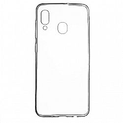 ETUI BACK CASE ULTRA SLIM SAMSUNG A205 GALAXY A20 / A305 GALAXY A30 TRANSPARENT