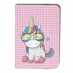 ETUI UNIWERSALNE DO TABLETA 7-8 CALI RAINBOW UNICORN