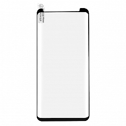 SAMSUNG G965 GALAXY S9 PLUS - HARTOWANE SZKŁO 0.3MM CZARNE 5D CASE FRIENDLY